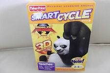 Fisher Price Smart Cycle Physical Learning Arcade KUNG FU PANDA 3D Racing Game