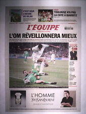L'EQUIPE 23 DECEMBRE 2006 MARSEILLE OM - ST ETIENNE 2 - 1
