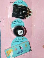Barbie Vintage Reproduction Miniature Playable Toys ~ De-Boxed ~ Free U.S Ship