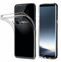 For Samsung Galaxy Galaxy  S8 /  S8 Plus Shockproof Clear Silicone Case Cover