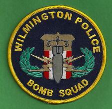 WILMINGTON NORTH CAROLINA POLICE BOMB SQUAD SHOULDER PATCH