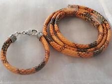kit pour fabrication de bracelet cordon serpent
