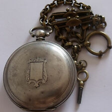 SILVER TURKISH Ottoman K.SERKISOFF CONSTANTINOPLE BILLODES ZENITH POCKET WATCH