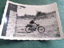 ancienne photo moto