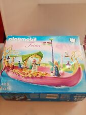 Playmobil Fairy Queen Ship 5445 with 2 Fairy Figures Boxed With Instructions
