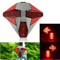Wireless Bike Signal Rear Tail Light For Warning And Directional Indicator