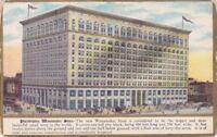 JOHN WANAMAKER DEPARTMENT STORE Philadelphia PA - RARE Grand Opening Postcard
