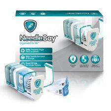 NeedleBay Storage Box Insulin 4 Needle Bays Diabetes NEW