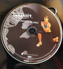 Insanity Workout - Beachbody - Core Cardio & Balance - Dvd Replacement Disc