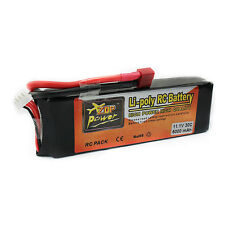ZOP Power 5000mah lipo battery 11.1v 30C T-Plug helicopter rc quadcopter boat