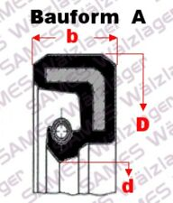 1 Stück 16x25x7  A =(BA,DA,SC,WA,827N) Wellendichtring (Simmerring) Oil-Seal