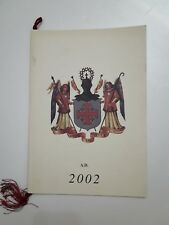 Calendario Ordine Equestre del Santo Sepolcro di Gerusalemme anno 2002