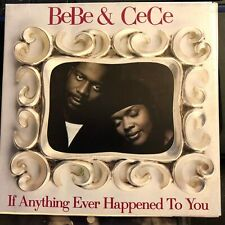 BeBe & CeCe Winans  If Anything Ever Happened To You Promo CD FAST FREE SHIP !
