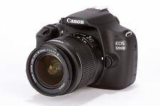 CAMARA DIGITAL CANON EOS 1300D + 18-55DCIII