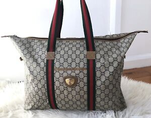 GUCCI PLUS large overnight Travel Tote