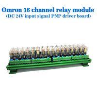 16 Relay Module Sixteenth Street Dashboard Driver Board Socket DC 24V PNP