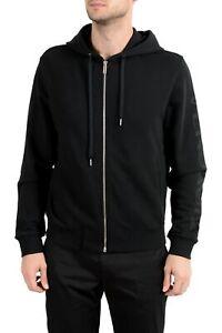 Versace Men's Black Full Zip Hoodie