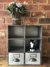 Industrial Vintage Shelving Shelf Rack Storage Cupboard Cabinet Wall Unit 46cm