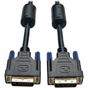 Tripp Lite 3ft DVI Dual Link Digital TMDS Monitor Cable Shielded DVI-D M/M 3