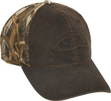 Drake Waterfowl Systems Cotton Wax Cap -Brown/ Realtree Max-5 - # DH3008-015