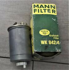 VW Golf III 3 MANN-FILTER WK842/4 Kraftstofffilter Filter Kraftstoff