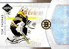 2011-12 Limited Crease Cleaners #1 Tim Thomas
