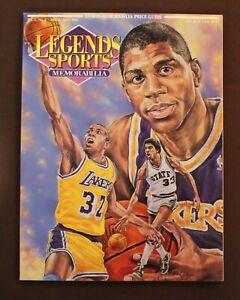 Legends Sports Memorabilia Vol. 5, No. 2 March/April 1992 Magic Johnson