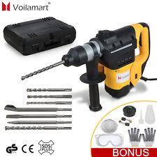 1800W SDS Plus Bohrhammer Schlagbohrmaschine Bohrmaschine Meisselhammer Zubehör