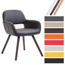 Chaises de salle à manger vintage/rétro en cuir synthétique pour la maison