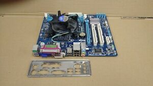Gigabyte GA-H61M-S2PV LGA1155 mATX Motherboard Bundle + i3-2100 Heatsink & IO