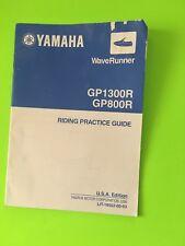 Yamaha Waverunner GP1300R GP800R Riding Practice Guide