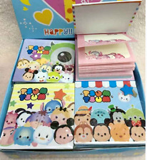 AU SELLER ~ TSUM TSUM Memo Pad Note Writing Paper for Lolly Bag Birthday Gift
