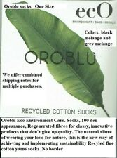 3 Pack Oroblu Eco socks opaque 100denier regenerated fibres your love for nature