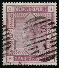 Victoria 1883-84 2s.6d. lilac, used (SG#178)