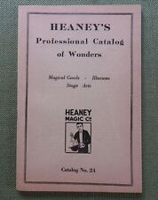 c.1920 Heayney'S Professional Catalog Of Magic Tricks Illusions Stage Props Nice