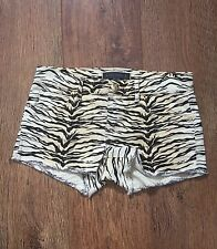 SIZE 25 JUICY COUTURE ZEBRA PRINT SHORTS SUMMER/FESTIVAL/TOWIE/CLUB/PARTY