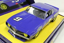 Scalextric C2400A Chevrolet Camaro 1969 #9 New 1/32 Slot Car In Display Case