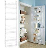 Over The Door Pantry Organizer Kitchen Storage Racks Wall Holder Rack Basket NEW