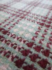 Scottish Tweed Pure New Wool Fabric- Patterned Check- By the Meter