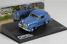 1951 - 1953 Opel Olympia Blue/Blue 1:43 IXO Altaya Collection