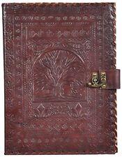 Leather Handmade Leather Office Tree Folder Business Professional Pad folio