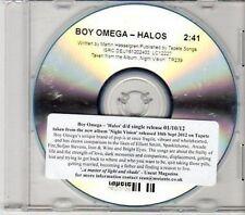 (CY309) Boy Omega, Halos - 2012 DJ CD