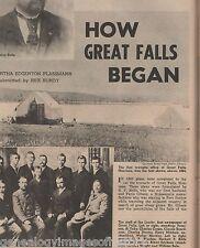 Great Falls, Montana - Early History & Genealogy, Boardman, Bole, Bundy, Carter