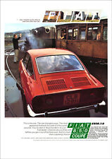 FIAT 850 COUPE FASTBACK RETRO A3 POSTER PRINT FROM CLASSIC 70'S ADVERT 1970