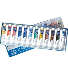 Winsor & Newton Cotman Watercolour 12 Tube Box Set. Artists Intro Set 8ml Tubes