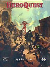 JDR RPG JEU DE ROLE / HEROQUEST LIVRE DE BASE
