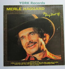 MERLE HAGGARD - The Very Best Of ... - Ex Con LP Record Country Store CTS 15