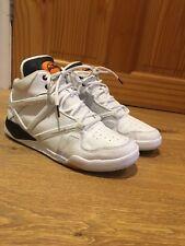 Reebok Pour Homme Baskets Taille 6.5 le blanc Pump Mi Hightop Casual Gym Entraînement