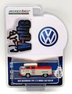 Greenlight 1/64 Scale 36020-D - Volkswagen Type 2 T2 Double Cab Pick Up