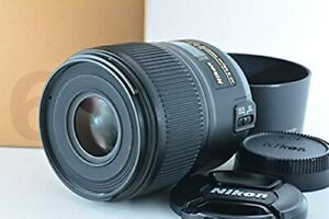 Nikon Single-Focus Micro Lens AF-S Micro 60mm f / 2.8G ED Full Size New